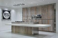 Interieurideeën   keuken steigerhout kast Door marcoschumacher