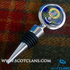 MacLaren Clan Crest Wine Stopper