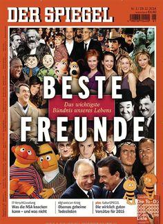 BESTE FREUNDE - Das wichtigste Bündnis unseres Lebens. Gefunden in: Der Spiegel, Nr. 1/2015