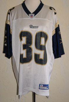 3ab8215da Sam Jackson RAMS NFL Authentic Merchandise Football Jersey By REEBOK Size  Large  Reebok  StLouisRams