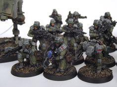 [WH40K] The Anphelion Project - 99th Drop Regiment [CC Squad und Gruppenbild done!]