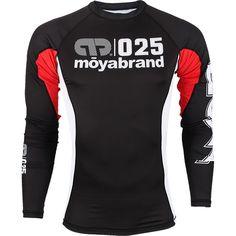 Moya Brand Long Sleeve Rashguard (IBJJF Approved)