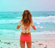 Inspiring picture beach, hipster, indie, beautiful, bikini. Resolution: 400x266. Find the picture to your taste!
