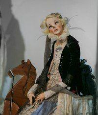 Art doll by Alisa Filippova Doll Costume, Costumes, Weird Toys, Dark Circus, Doll Maker, Barbie Dolls, Dolls Dolls, Various Artists, Ball Jointed Dolls