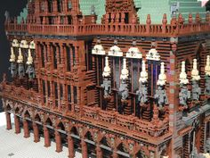 Lego Town Hall on the Marketplace of Bremen