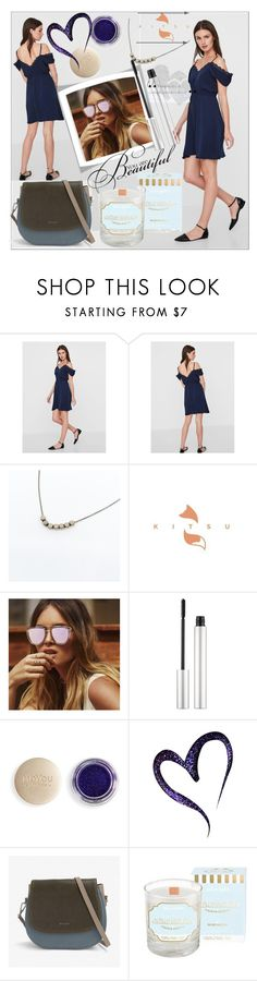 """""""KITSU#3"""" by sabahetasaric ❤ liked on Polyvore featuring NUNC, French Kiss and vintage"""
