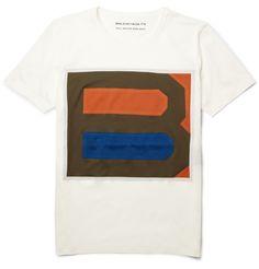 BalenciagaPrinted Cotton-Jersey T-Shirt|MR PORTER