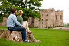 Raby Castle -Teesdale in the Durham Dales is home to one of England's most impressive medieval castles, built by the Nevills and home to Lord Barnard's family since 1626. It features fine furniture, impressive artworks and elaborate architecture. Also has extensive grounds.