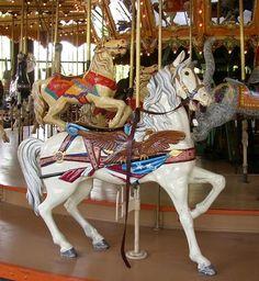 The Enchanted Dentzel Carousel Horses