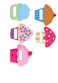cupcakes à imprimer