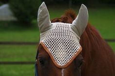 fly bonnet to protect your horses ears