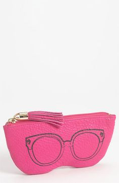Rebecca Minkoff Leather 'Sunglasses' Case available at #Nordstrom