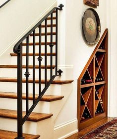 57 Creative Storage Ideas For Under Stairs Page 60 of 60 Understairs Storage CR Understairs Ideas CREATIVE Ideas Page stairs storage Understairs Office Under Stairs, Bar Under Stairs, Under Stairs Wine Cellar, Closet Under Stairs, Stair Storage, Wine Storage, Storage Ideas, Shelf Ideas, Creative Storage