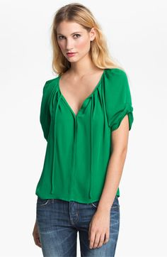 Joie 'Berkeley' Silk Top available at #Nordstrom
