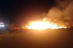 BLOG DO MAGO 25 HORAS: Incêndio atinge campus da UFCG em Cajazeiras, no S...