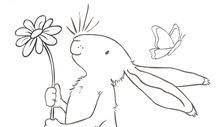 ausmalbilder kaninchen zeichnen pinterest kaninchen ausmalbilder und ostern. Black Bedroom Furniture Sets. Home Design Ideas