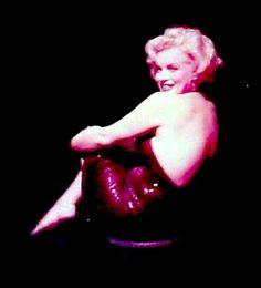 Marilyn by Richard Avedon in 1957.