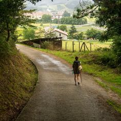 A pilgrim one who travels to a holy place for a specific purpose, maybe is for a sense of adventure and tourism, maybe is for religious reasons.  The journey is a metaphor of life. It takes effort, find your inner peace, connect with the other pilgrims you will find along the way.  #LivingTheCamino #stayathome #TheWayofSaintJames Pilgrims, Stay At Home, No Way, Inner Peace, Effort, Connect, Purpose, Tourism, Country Roads