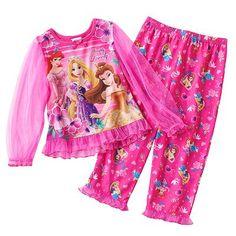 Disney princess simply lovely pajama set toddler
