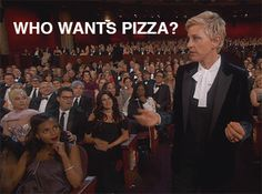 We already know what the actual Oscar winners list looks like, but given everything that went down on Sunday night, we think there are a few awards that still Oscars Pizza, Oscars 2014, Kerry Washington, Gifs, Love Pizza, Oscar Winners, Celebs, Celebrities, Celebrity