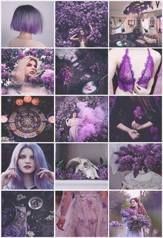 Lilac Witch aesthetic