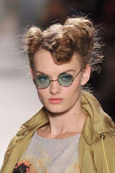 On the runway with #TRESemme at Designer #TracyReese Spring 2012 Show - Mercedes Benz Fashion Week #hair #models #runway #NewYorkFashionWeek #beauty #hairstyling #summerhair