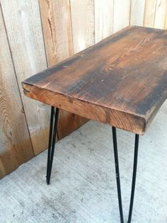 Salvaged Wood Bench