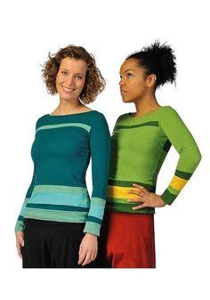 FARBE: grün oder blau  GRößE:  S, M, L oder XL  Material:  Jersey Slub (100% Baumwolle).    Legerer Freizeitlook! Niedliches Top aus Jersey Slub (stru