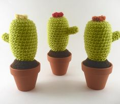 These cacti are some of my customers favorites! Maybe it's the bright green color? Click the link in my bio to get your own. #theknitknackshop #etsy #etsyseller #etsyowner #crochet #crocheting #crochetersofinstagram #crochetgeek #handmade #handmadebyme #handmadewithlove #amigurumi #cacti #succulents #home #homedesign #homedecor #pincushion #picoftheday #love #girlboss #makers #minimalist by theknitknackshop