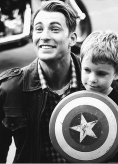 Captain America- Chris Evans