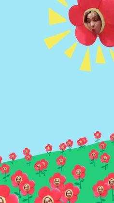 BTS Bangtan J-Hope sunshine flower lockscreen wallpaper