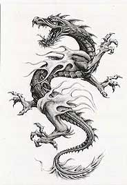 Image detail for -... fr/sadgreywerewolf/mon-forum/cheznous/tatoos/Dragon%20-%20Stilish.jpg