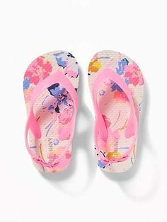 4c547df0bd1f Old Navy Printed Flip-Flops for Toddler Girls   Baby