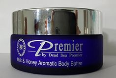 Premier Dead Sea Aromatic Body Butter- Milk and Honey, 175ml ** You can get additional details at the image link.