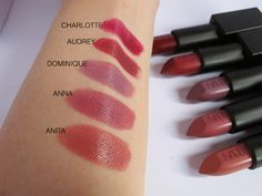 NARS Audacious Lipsticks Part Two - Swatches & Review