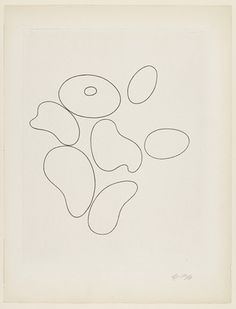 :: Composition with Seven Elements from 23 Gravures - Jean (Hans) Arp ::