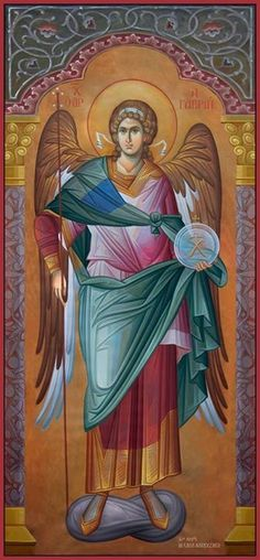 The Holy Archangel Michael, Commander of the Angelic Hosts. Religious Images, Religious Icons, Religious Art, Byzantine Icons, Byzantine Art, Angel Protector, Archangel Raphael, Raphael Angel, Angels In Heaven