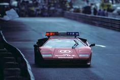 1983 Monaco Grand Prix Safety Car - Lamborghini Countach : formula1