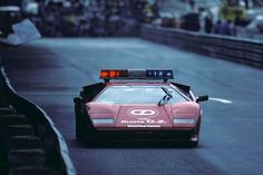 1983 Monaco Grand Prix Safety Car - Lamborghini Countach : formula1