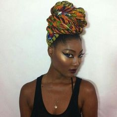 ***Try Hair Trigger Growth Elixir*** ========================= {Grow Lust Worthy Hair FASTER Naturally with Hair Trigger} ========================= Go To: www.HairTriggerr.com ========================= Exotic Headwrapped Goddess!!!