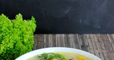 Salat-Suppe (Ciorba de Salata) – miss red fox Red Fox, Herbs, Food, Omelet, Essen, Herb, Meals, Yemek, Eten