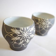 Eri Sugimoto Snowflake Cup  just this once i will give a pass on calling an 8-pointed thing a snowflake.