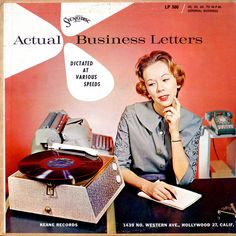 Actual Business Letters by Epiclectic, via Flickr