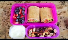 Heathy school lunch idea🍏!! Go to youtube.com and watch video by Bethany Motta - Healthy lunch ideas for school. 👌