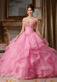 Browse Vizcaya Collection Turning fifteen is a big deal. We know. Your Quinceañera dress should be a beautiful reflection of…