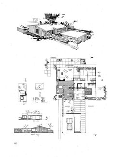 """https://flic.kr/p/5QWCvv   Hugh Stubbins - """"Georgia Builds"""" Architectural Competition 1945-1946   Hugh Stubbins graduated from the Georgia Institute of Technology in 1931 and was awarded the MArch by the Harvard Graduate School of Design in 1935. At the invitation of Walter Gropius, Stubbins taught for more than a decade during the 1940's and 1950's at the GSD; in 1954 he left teaching to devote himself to his architectural firm, which was to become a highly successful international…"""