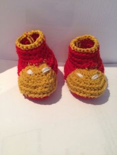 Un favorito personal de mi tienda Etsy https://www.etsy.com/ie/listing/237756169/iron-man-booties-baby-boots-crochet-and
