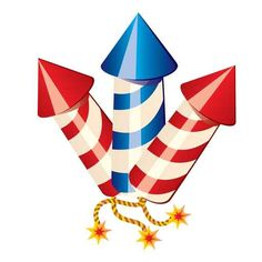 fourth of july clipart border