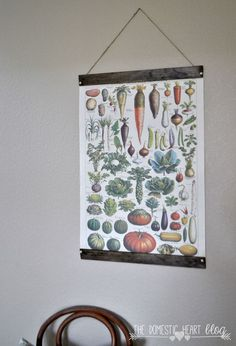 #DIY Vintage Wall Art for Less Than $10