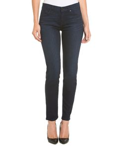 7 For All Mankind The Slim Cigarette Rich Dark Reef Skinny Leg is on Rue. Shop it now.